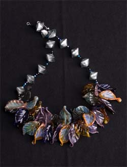 Beach Leaf Necklace